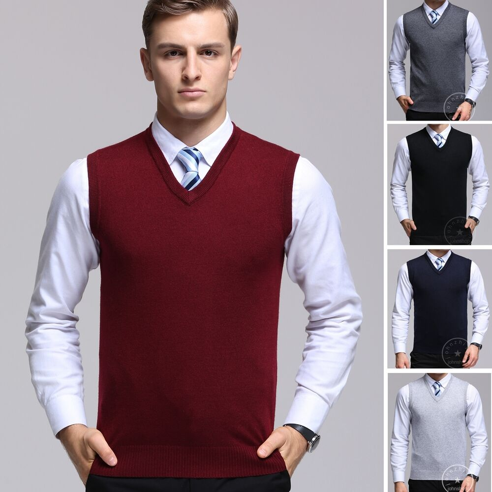 Unbranded Sleeveless Jumpers & Cardigans for Men | eBay