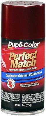 Duplicolor Dark Toreador Red Ford Touch-Up Paint - Code: JL, JM (8 oz)