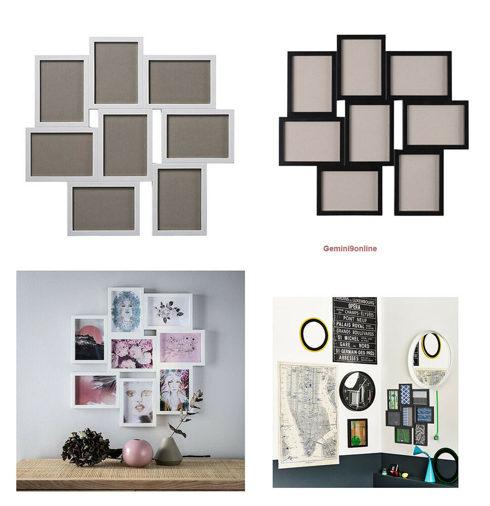 ikea picture frame for 8 photos vaxbo collage 5x7 white. Black Bedroom Furniture Sets. Home Design Ideas