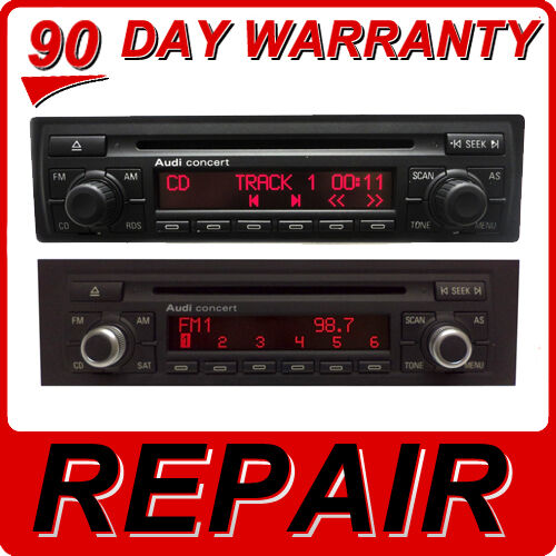 Repair Audi A3 A4 A6 A8 S4 S6 Tt Radio Concert Series Cd