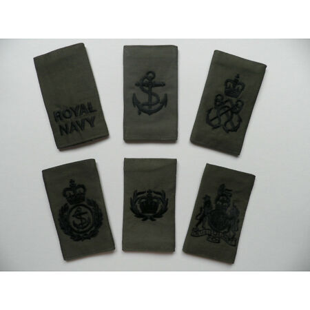 img-Royal Navy Rank Slides [pair] for MTP Clothing, other ranks. New & unused.