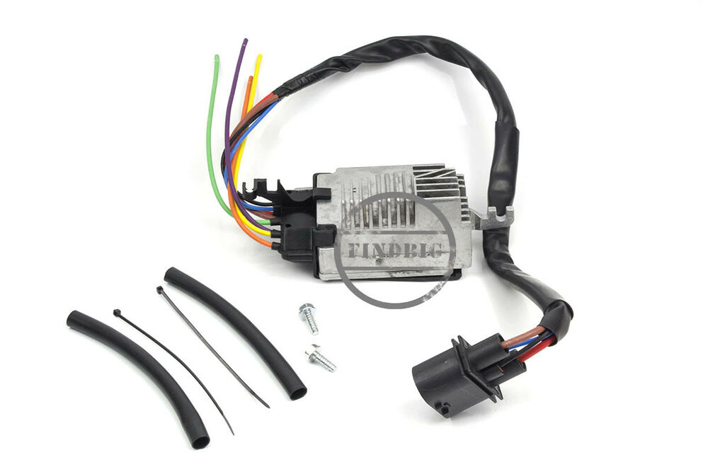 engine radiator cooling fan control unit module for 2002