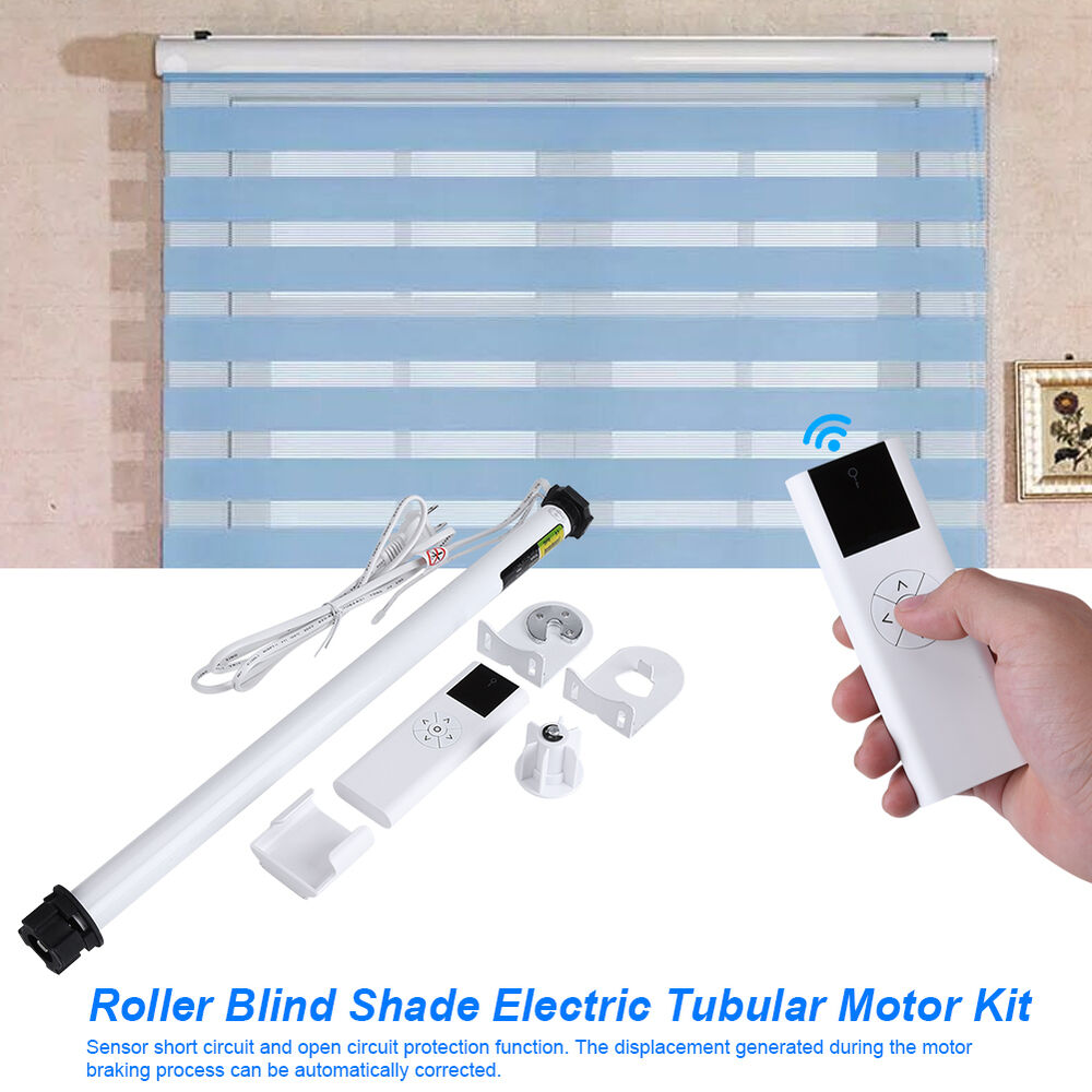 Screen Shade Motorized Roller Blinds Window Blind With