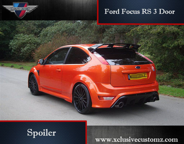 ford focus rs 3 door spoiler for ford focus mk2 tuning ebay. Black Bedroom Furniture Sets. Home Design Ideas
