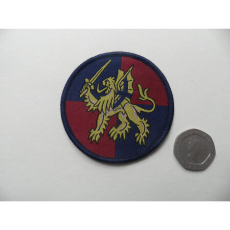 img-HQ United Kingdom [UKLF] Land Forces. Latest issue TRF patch.