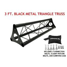 3' Wide Triangular Trussing Mobile DJ Lighting Bolt Truss System Triangles