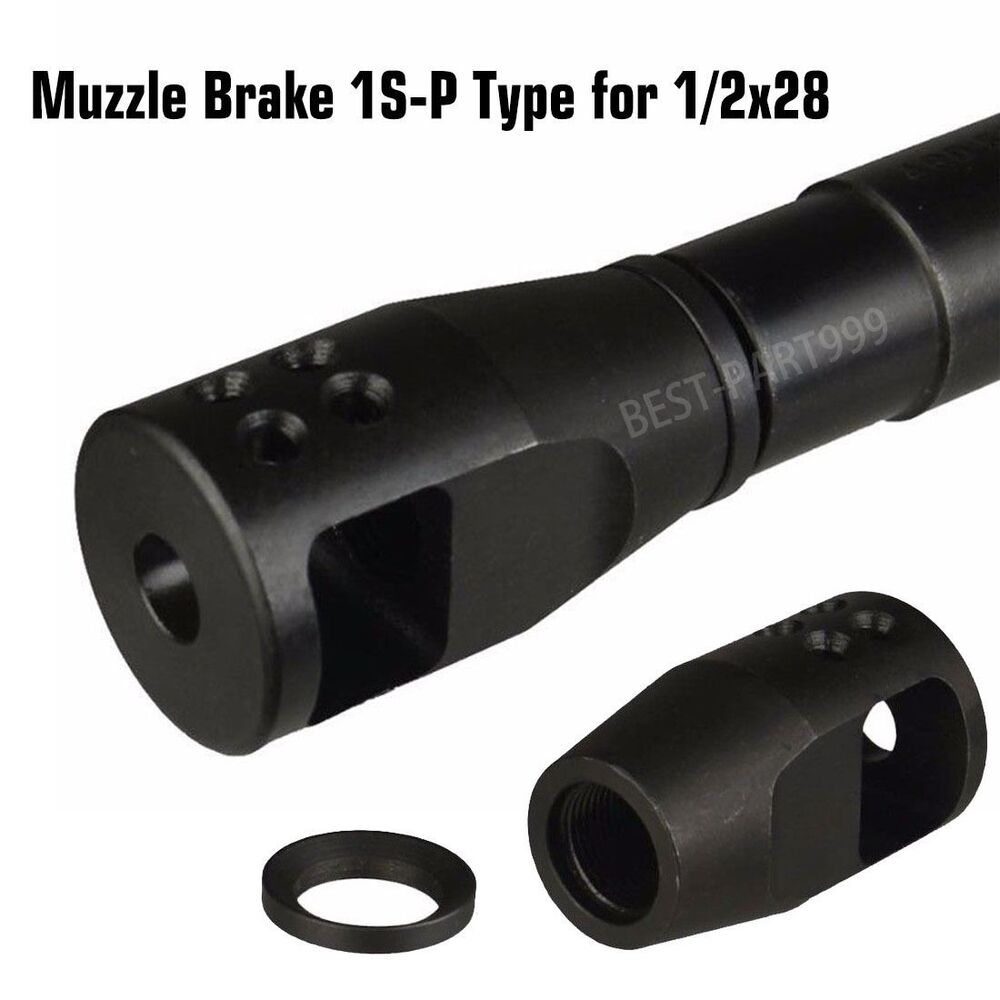Compact High Performance Muzzle Brake 1 2x28 With Crush
