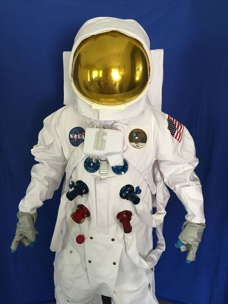 Apollo space suit nasa replica ebay for Space suit fabric