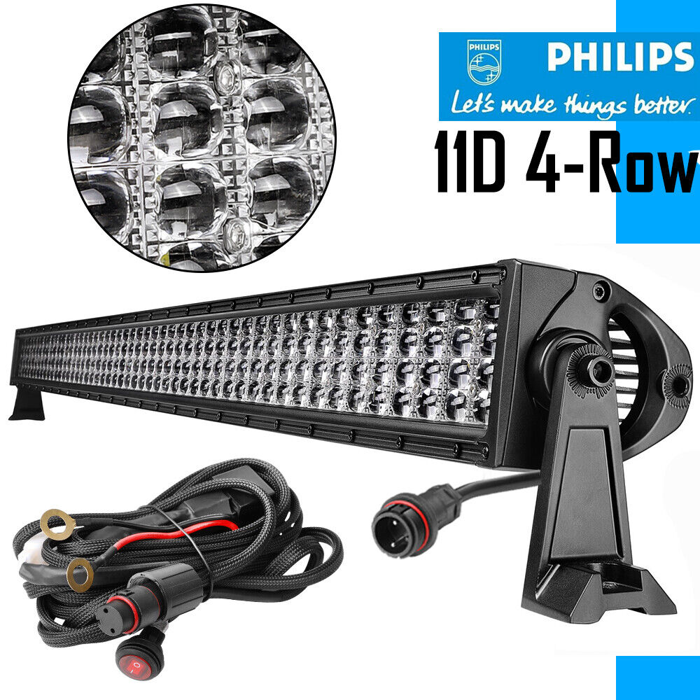 54inch philips 10d 2080w quad row curved led light bar driving combo 54inch philips 10d 2080w quad row curved led light bar driving combo beam vs 52 aloadofball Choice Image