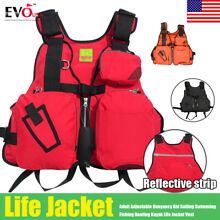Adult Adjustable Buoyancy Aid Sailing Kayak Canoeing Fishing Life Jacket Vest