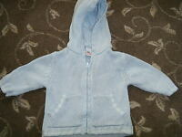 NEXT BABY - BOY BLUE CARDIGAN - AGE 3 TO 6 MONTHS