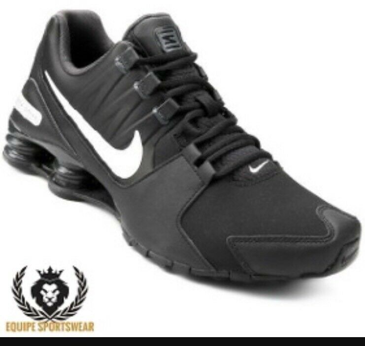 info for 9b8b1 15b24 Details about NWT NIKE Mens Shox Avenue LTR Running- Triple Black-  833584-004 -M-6  W-7.5