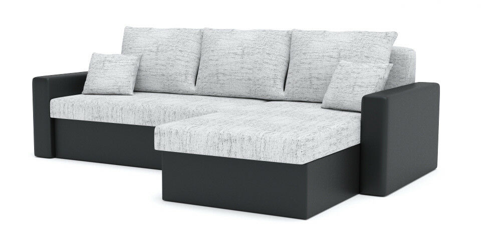 ecksofa zeus mit schlaffunktion best ecksofa modern eckcouch promo modell ebay. Black Bedroom Furniture Sets. Home Design Ideas