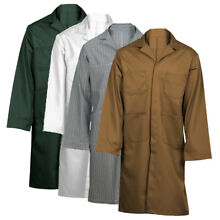 Tan or White Shop Coat-BRAND NEW! MADE IN THE USA (select sizes*)