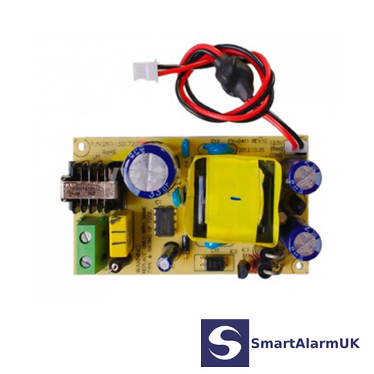 control panel internal power supply visonic powermax pro complete 260 301720 ebay. Black Bedroom Furniture Sets. Home Design Ideas
