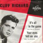 record 45 SINGLE CLIFF RICHARD IT'S ALL IN THE GAME NL