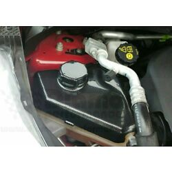 coolant bottle COVER for FORD FIESTA Mk7,7.5 ALL MODELS INC ST, CARBON EFFECT