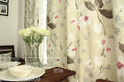Minimalist style Natural Cotton texture Linked 1.15m x 1.8m Two Curtain