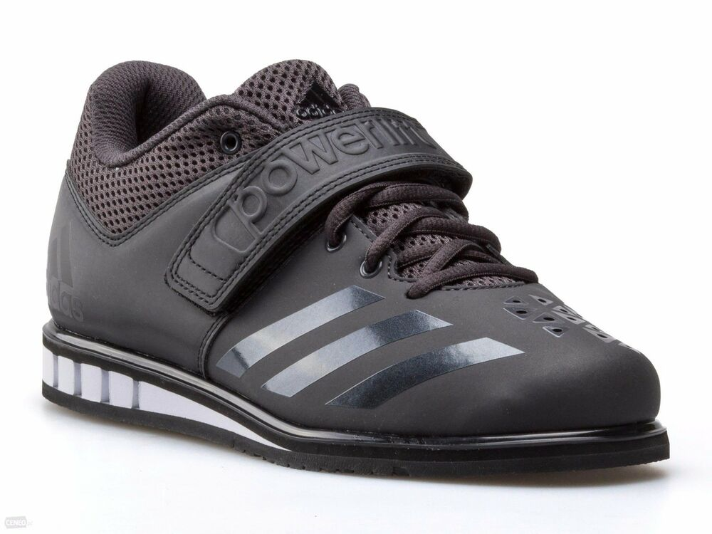 5d8a12693fd05f Details about Adidas Men s Powerlift 3.1 Black White Weightlifting Shoes  BA8019 Sz 6 - 13