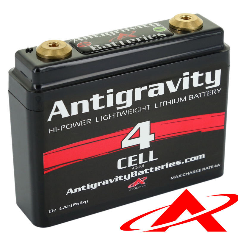 antigravity batteries ag 401 lithium motorcycle battery 120 cca 4 cell 12v ebay. Black Bedroom Furniture Sets. Home Design Ideas