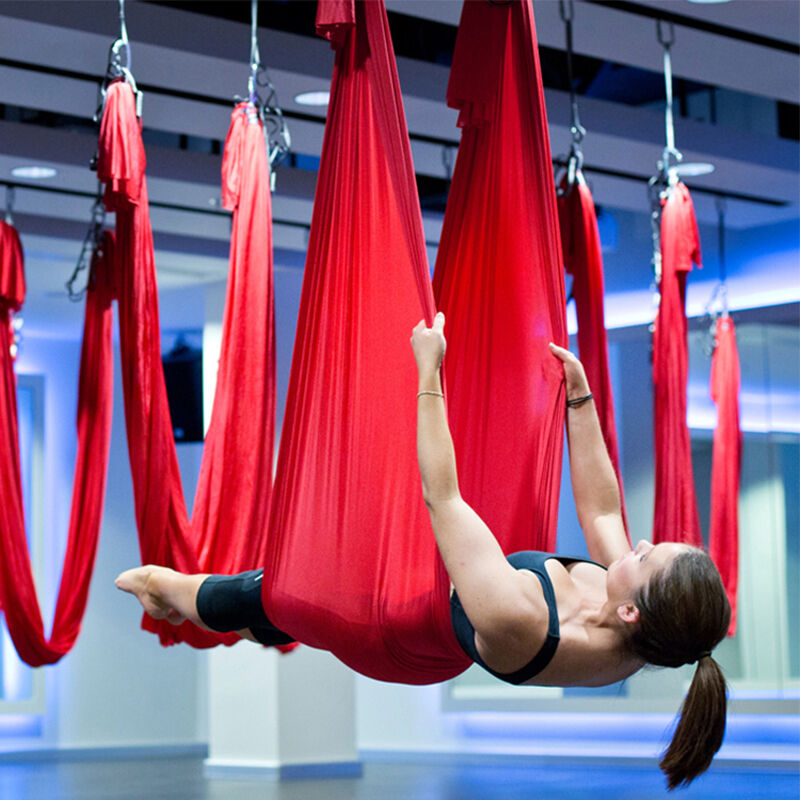 Fitness & Body Building Yoga Fast Deliver Decompression Swing Sling Inversion Anti-gravity Aerial Yoga Hammock