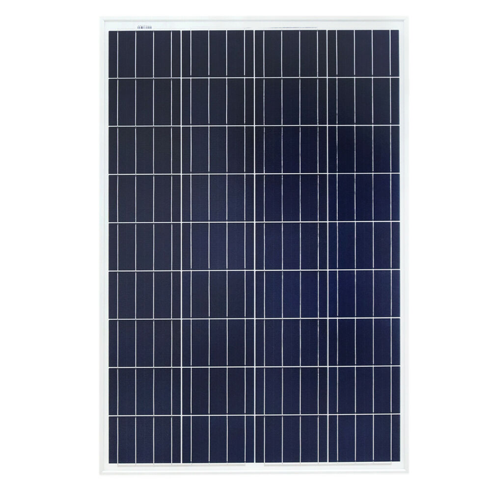 solarmodul 100 watt polykristallin solarpanel 12 v f r. Black Bedroom Furniture Sets. Home Design Ideas