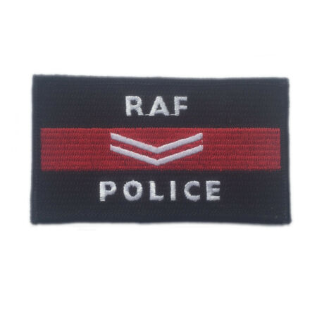 img-RAF Police embroidered cloth badge - Corporal Iron or sew on patch