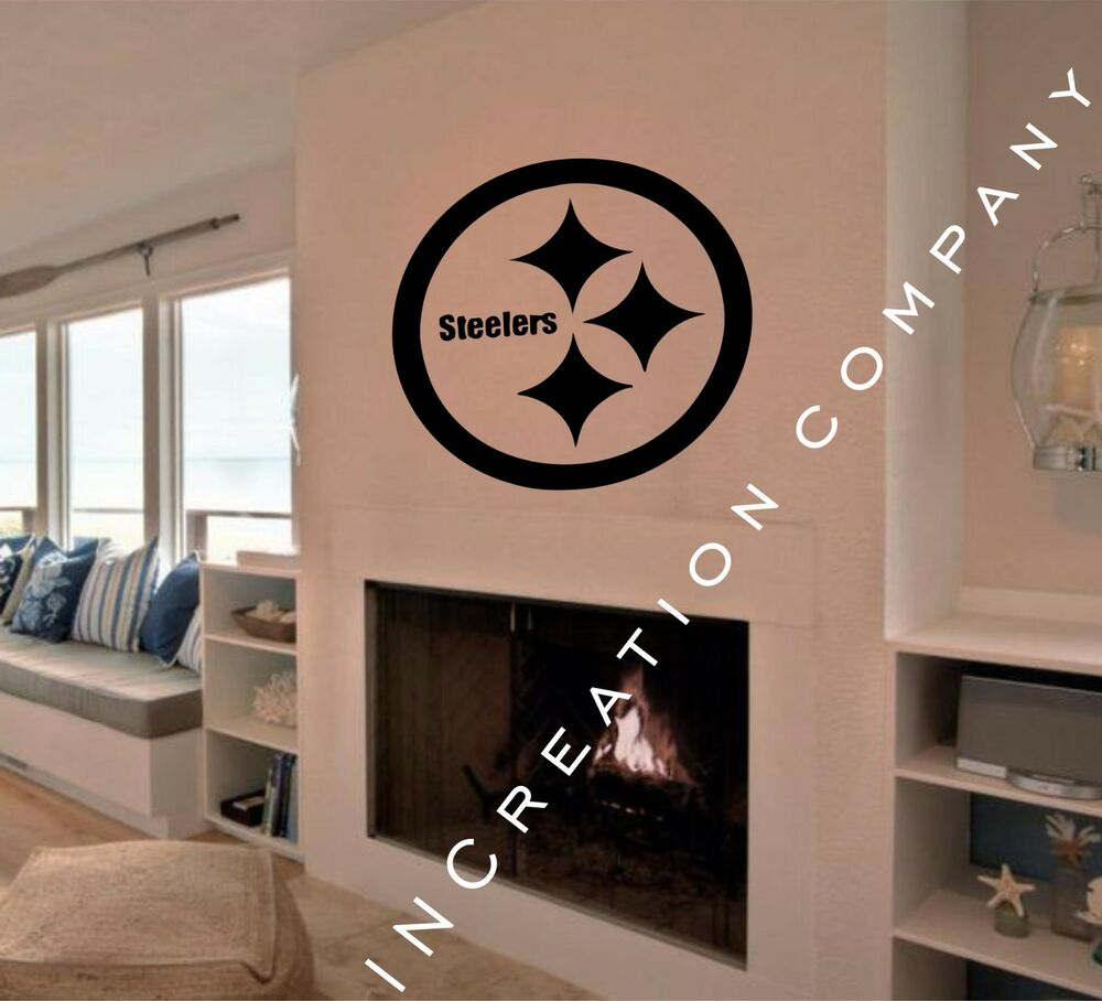Home Decor Pittsburgh: Pittsburgh Steelers Wall Decor Vinyl Sticker Decal Mural