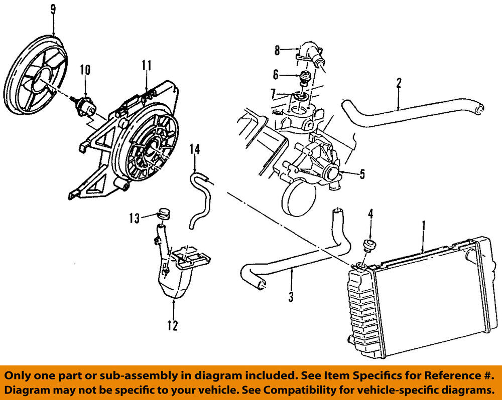 Gm Oem Engine Coolant Thermostat 24506986 Ebay 1993 Oldsmobile Cutlass Ciera Diagram