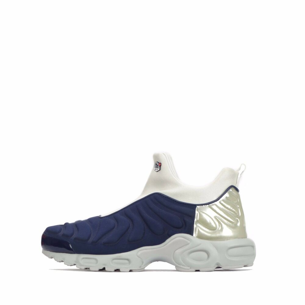 competitive price 4e151 57239 Details about Nike Air Max Plus Slip On TN Tuned SP Womens Shoes Midnight  NavySilver