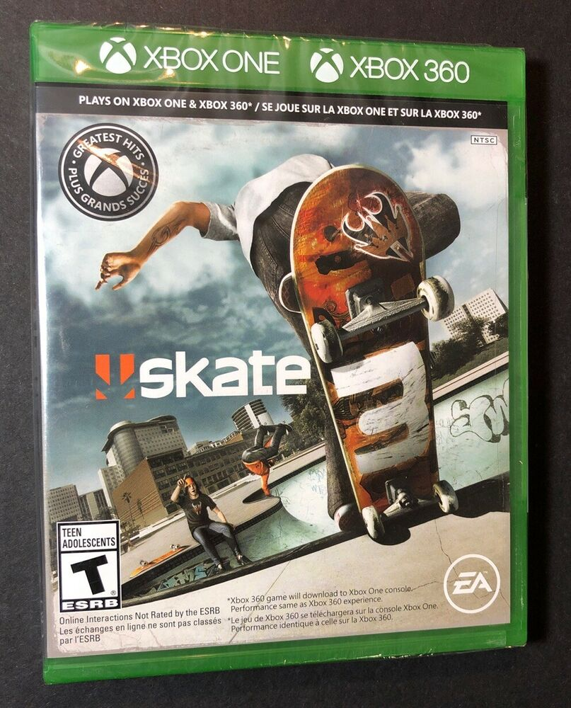Skate 3 Xbox One G2 Case New 14633363418 Ebay