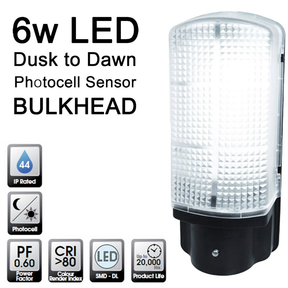 Quality LED Dusk to Dawn Photocell Sensor Bulkhead Outside ...