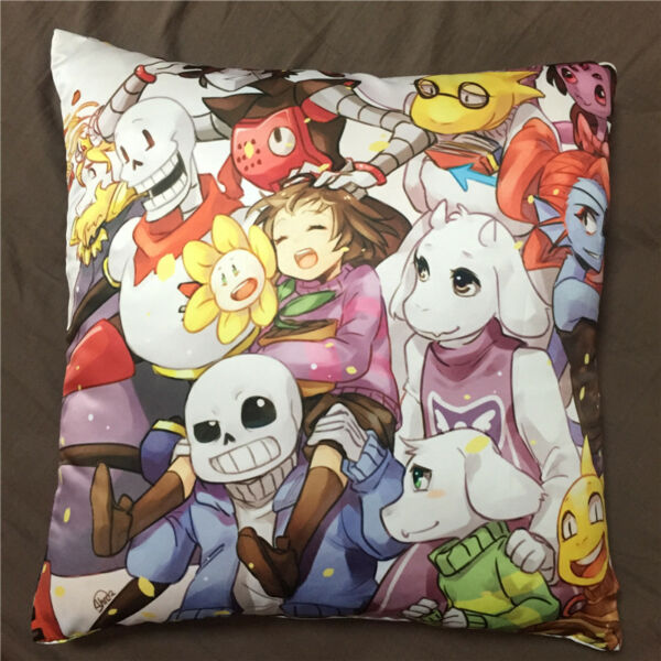 Anime Game Undertale Sans double two sided hugging Pillow Case Cover 073