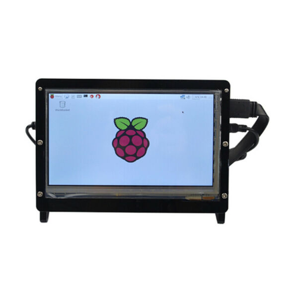 For Raspberry Pi 2 B/ 3 B Acrylic 7 Inch HDMI LCD Touch Screen Case