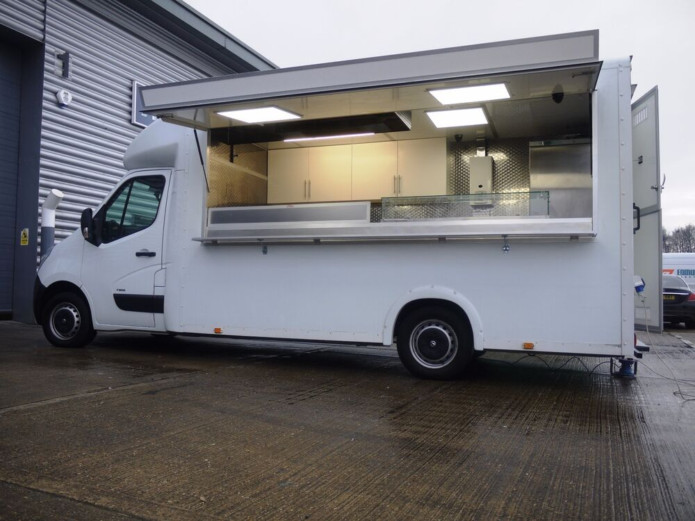 AJC Van CONVERSION ONLY Burger Kebab Mobile Catering Trailer Bar Food