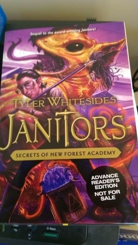 Arc Signed Janitors Secrets Of New Forest Academy Tyler Whitesides
