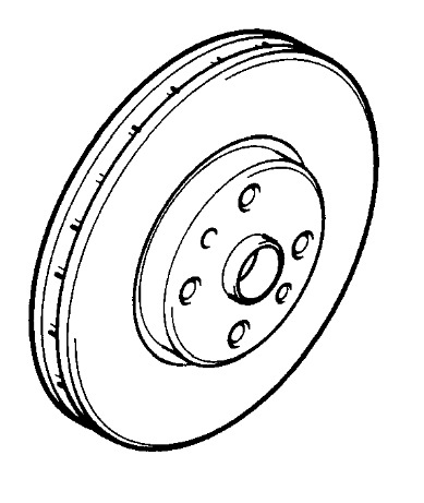 Vauxhall Brake Disc Set