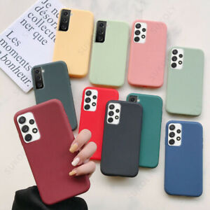 For Samsung S20 Plus Ultra A51 A71 A30 Slim Soft Matte Silicone Phone Case Cover