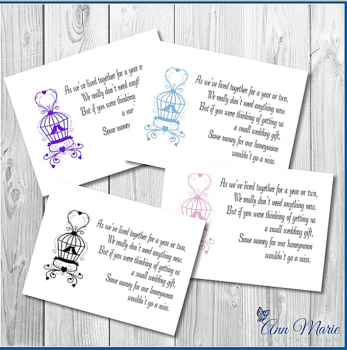 10 personalised wedding money poem gift poem card honeymoon 10 personalised wedding money poem gift poem card honeymoon wish poems cards ebay kristyandbryce Images