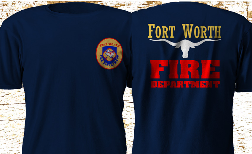 New RARE FORT WORTH Texas Fire Department FIREFIGHTER ...