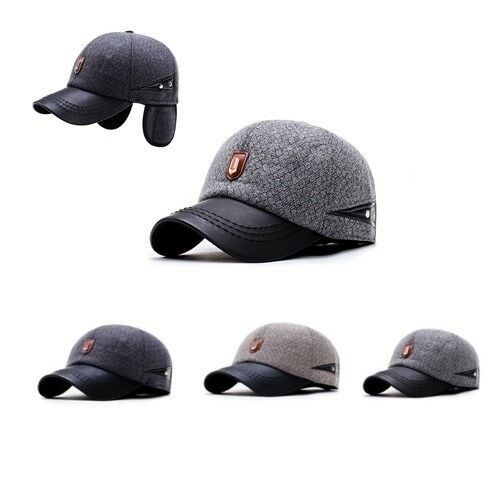 73646e2658ea0 Details about New Fashion Men s Winter Baseball Hats Caps with Ear Flaps  Snapback