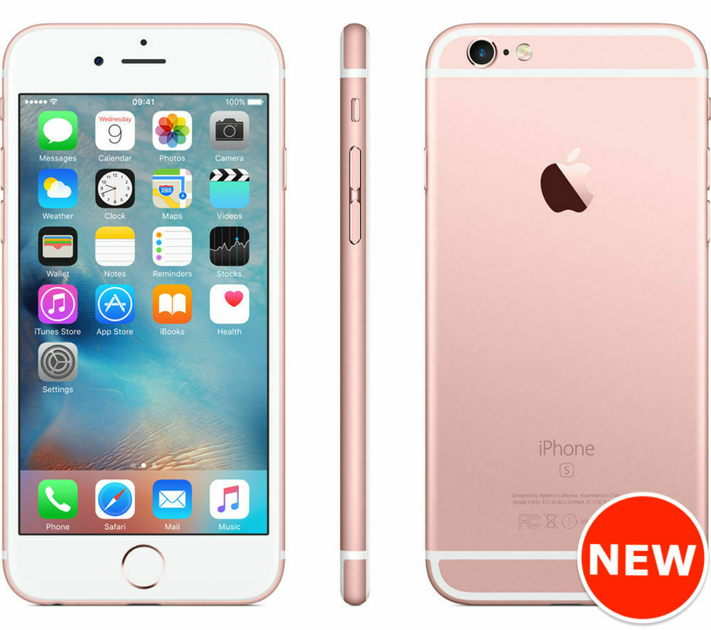Details about Apple iPhone 6s - 16GB, 32GB, 64GB, 128GB - Rose Gold  (Factory Unlocked) Sealed ded627e30e47
