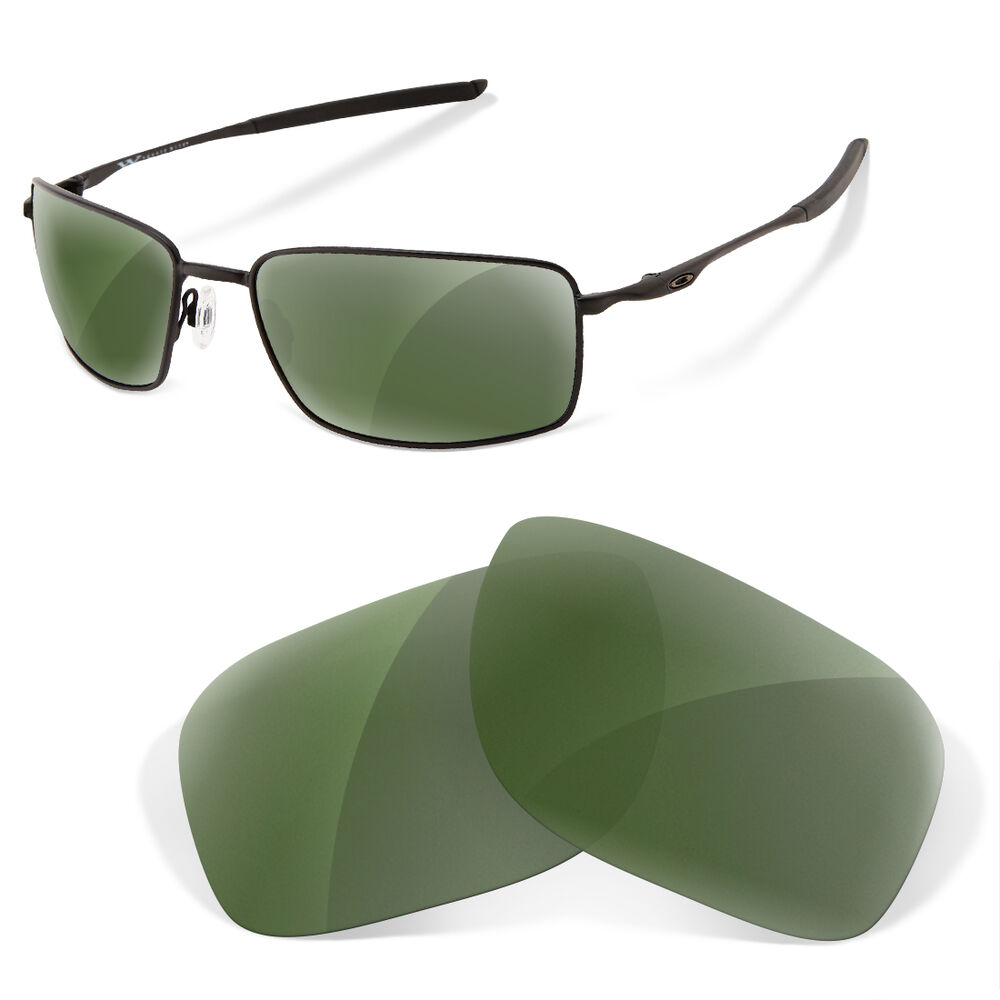 6ef714f045 Details about Polarized Replacement Lenses for Oakley square wire green g15  color