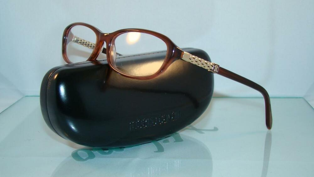 f5be40705c5a Roberto Cavalli Bahamas 705 50 Brown   Gold Reading Glasses +1.00 Frames  Size 55