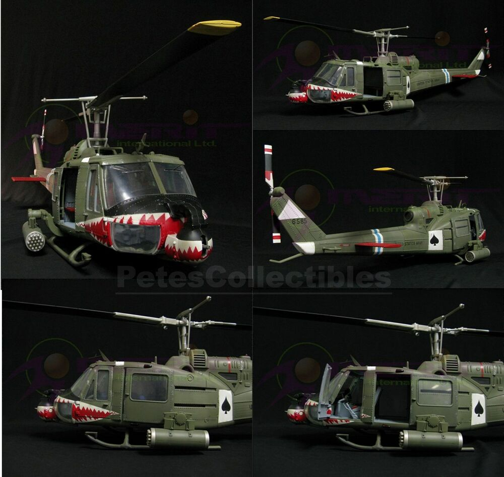 174th ahc vietnam - Merit Jsi 60007 Bell Uh 1b Iroquois Huey Helicopter 1 18 Scale Limited