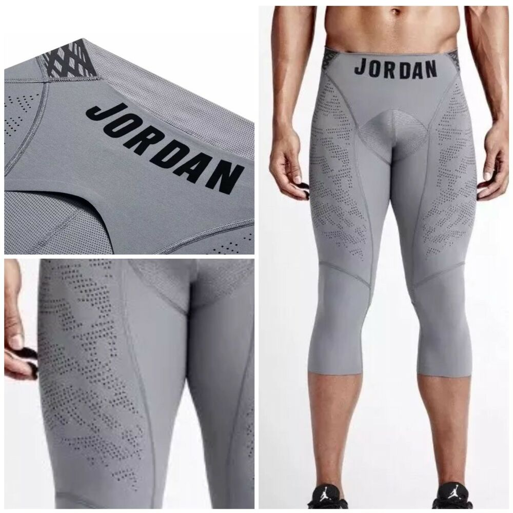 7880735b2e7dc Details about NIKE AIR JORDAN COMPRESSION tights Ultimate Flight Comp  basketball running XS