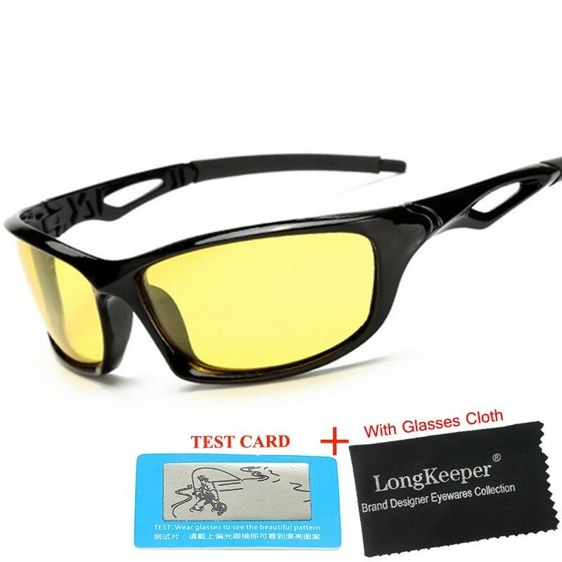 34b1460754c Details about NIGHTWATCH™ NIGHT VISION ANTI-GLARE WRAPAROUND GLASSES FOR  BRIGHT   SAFE NIGHT