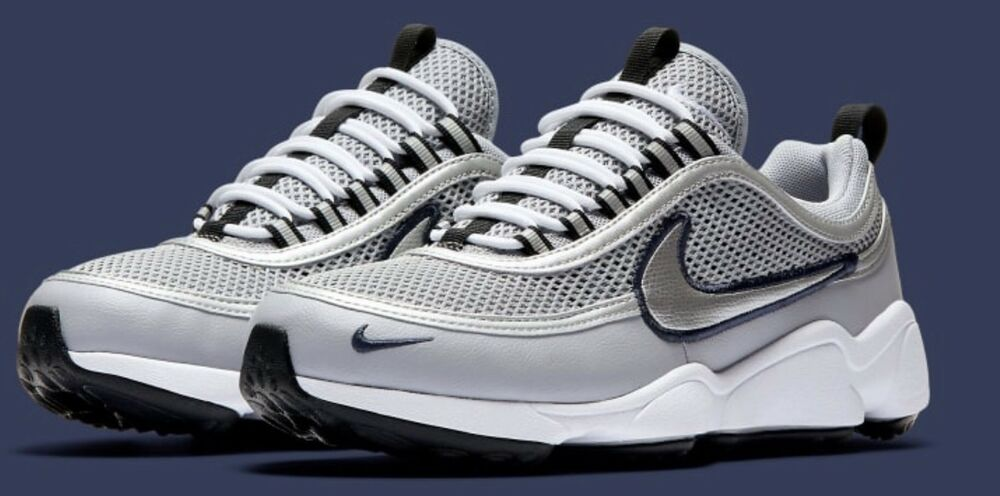 DS WOMENS NIKE AIR ZOOM SPIRIDON 905221 001 WOLF GRAY SILVER SZ 11 MAX AIR  FREE | eBay