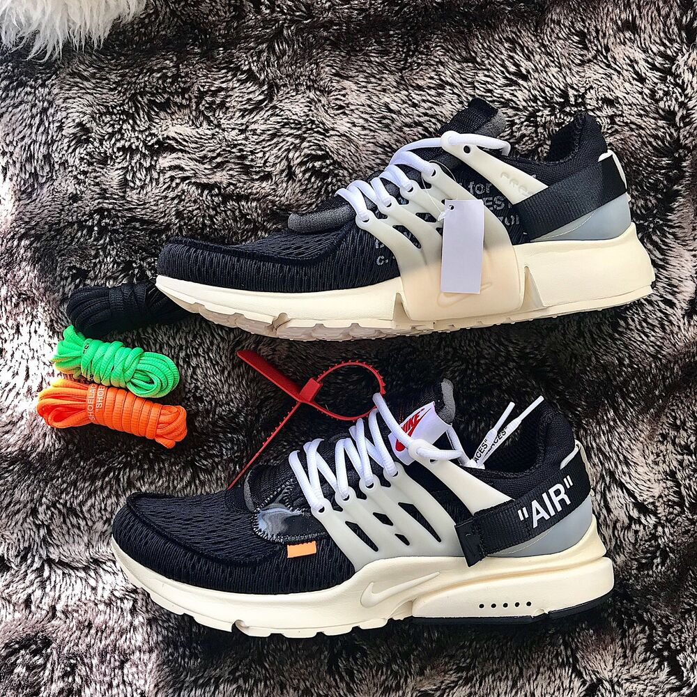 detailed look 7b1ba 9a8da Details about NIKE OFF WHITE X AIR PRESTO OG  The Ten Size 10 and 12 Men 1  Pair AUTHENTICATED