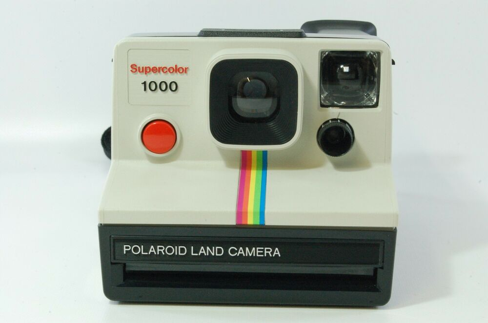 polaroid supercolor 1000 instant camera for sx 70 film tested ebay. Black Bedroom Furniture Sets. Home Design Ideas
